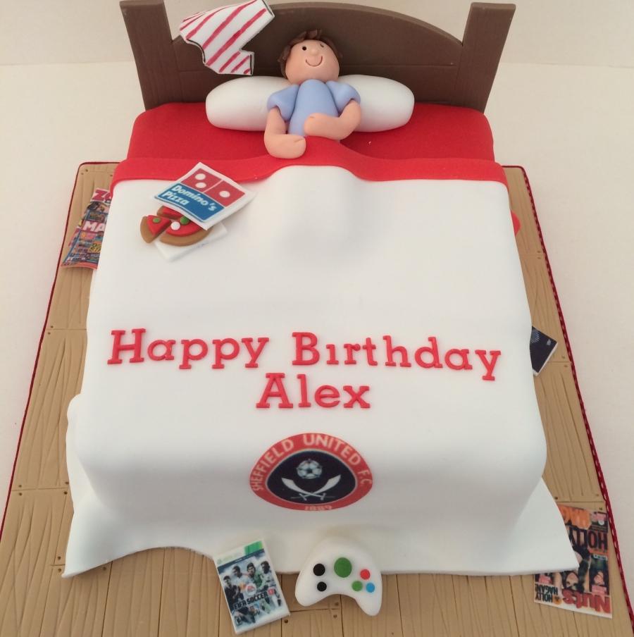 Sufc Bedroom 12th Birthday Cake