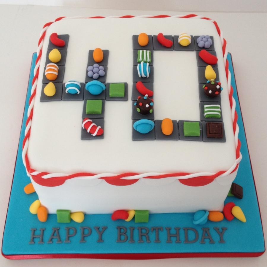 Fabulous Candy Crush Cake Birthday Cards Printable Opercafe Filternl